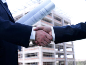 Architect handshake