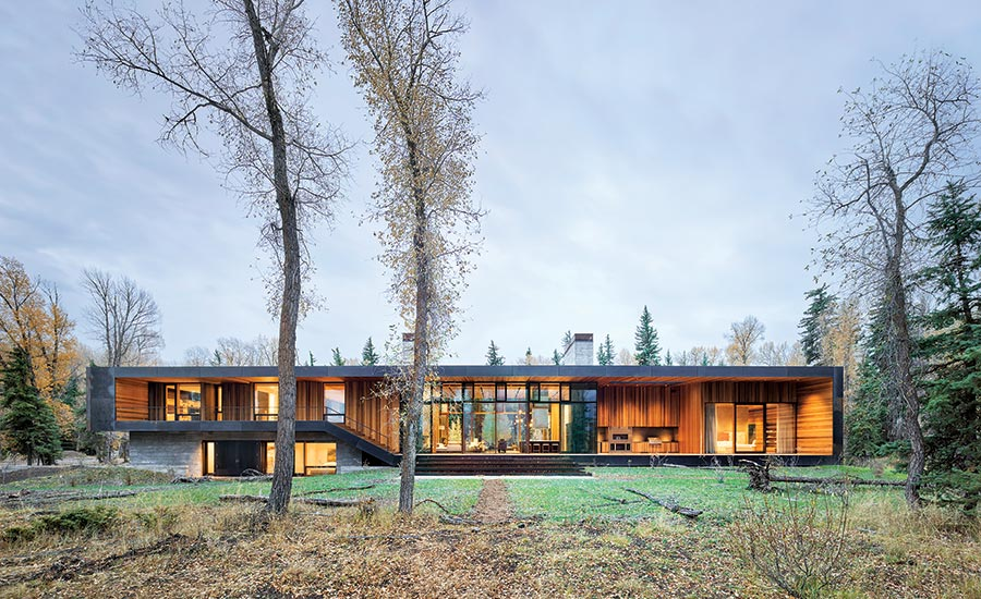 Riverbend Home Jackson Wyoming engineered by JM Engineering