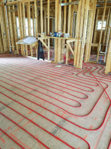 in floor radiant heating