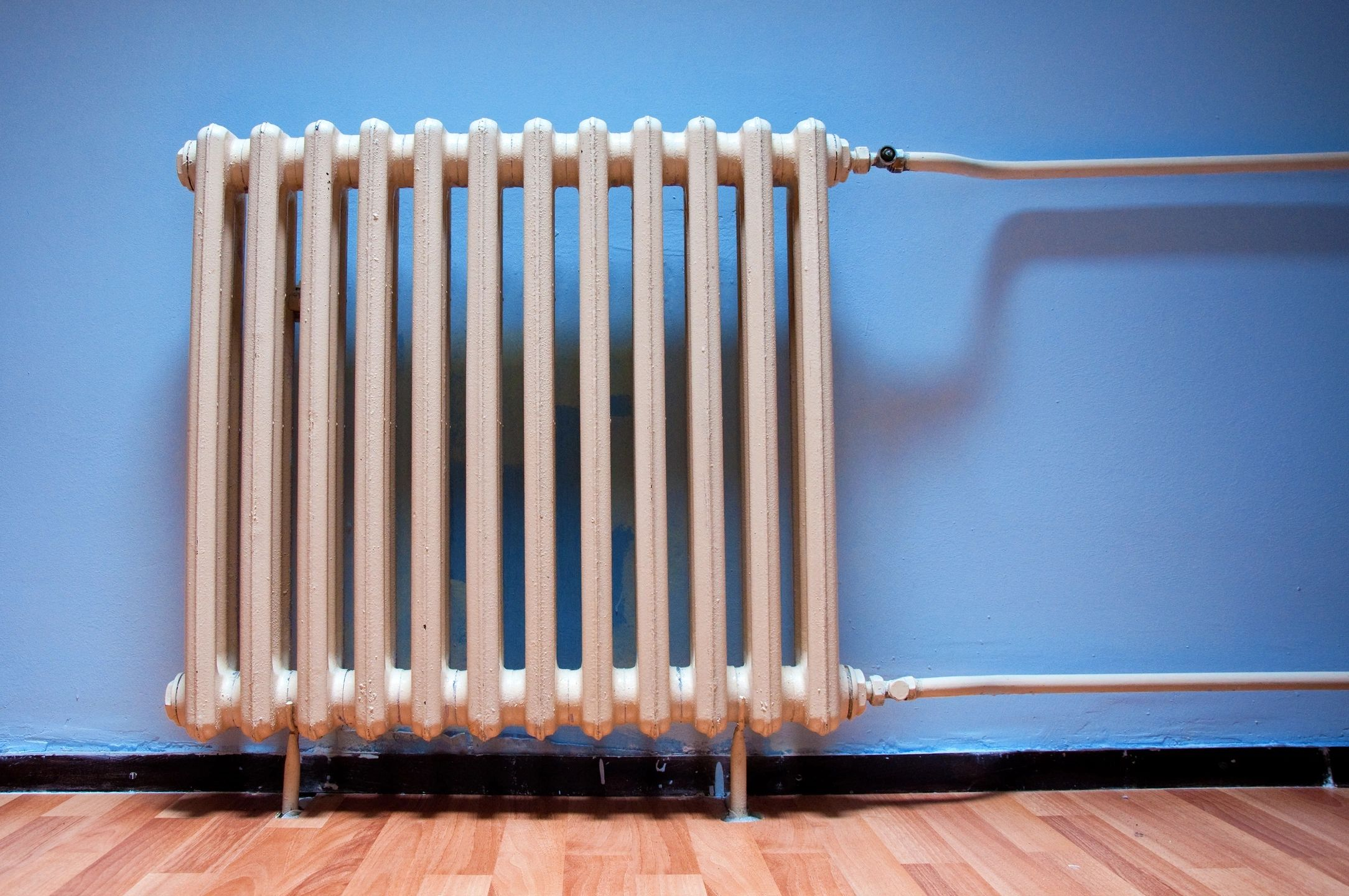 Radiant Heating blog old fashioned heater
